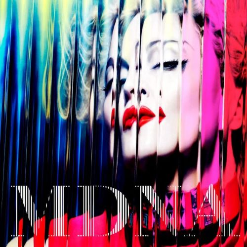madonnaciccone:  Here it is. MDNA, official cover art. Let me know what you think!  I love this. A LOT.