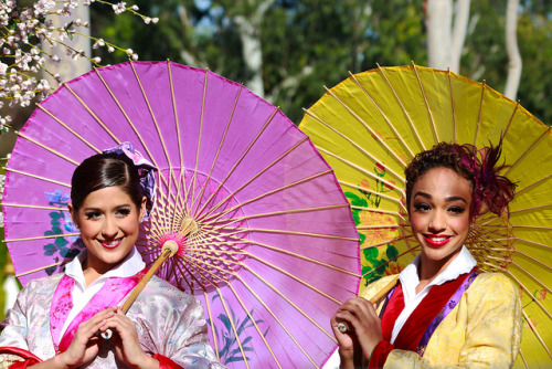 adventuresatdisneyland:  Lunar New Year Dancers on Flickr.