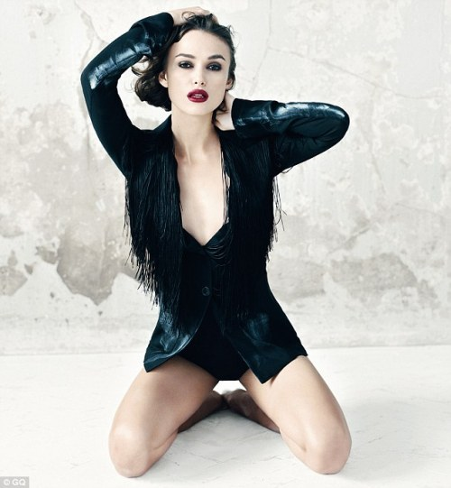 pussylequeer:  Keira Knightley - GQ UK, March 2012 Needless to say, WOW.