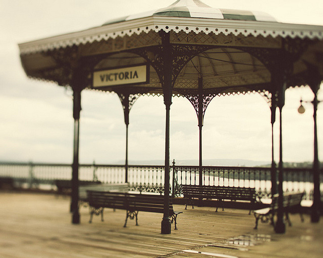 | ♕ |  Beach Gazebo - Vieux Quebec  | by © Irene Suchocki