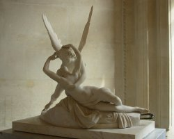 the-rx:   Psyche Revived by Love's Kiss by Antonio Canova. I would love it even if the story behind it wasn't one of my favorite myths. Read a short version of it here