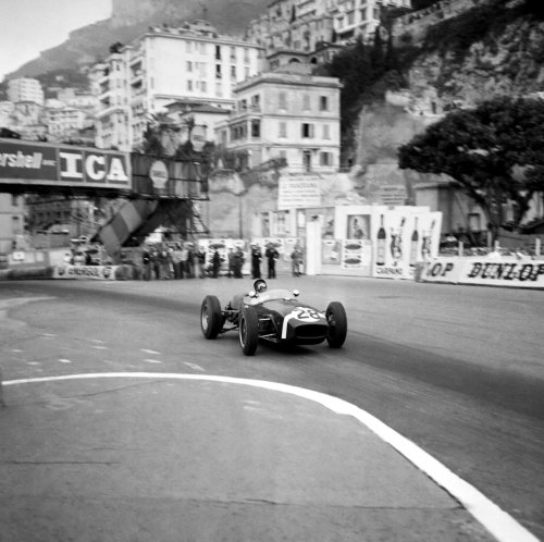 Stirling Moss at the 1960 Monaco Grand Prix