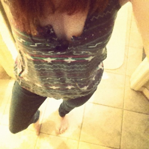 #pacsun #jeans #grey #yellow #blue #purple #followme #feet #body #tile (Taken with instagram)