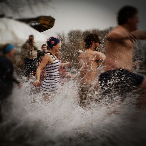 #winter #maine #swimmers #polardip