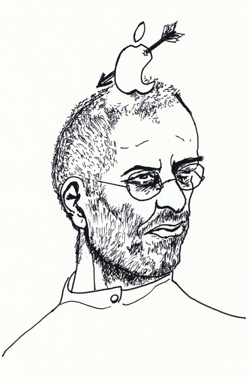 Steve Jobs, RIP by Ian Hampton