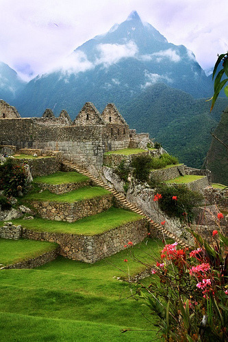 waterlilyjewels:  Another View: Machu Picchu, Peru (by White Pelican)  Oooooohhhh!  We should go there!