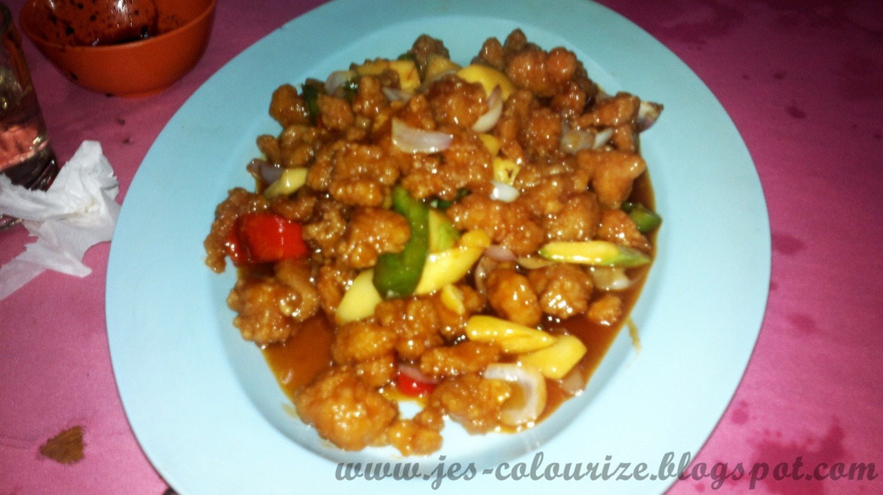 My favourite sweet @ sour pork =D Yummy Yummy!!!!