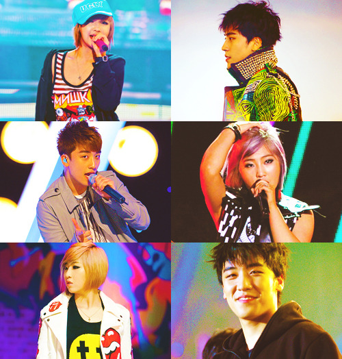 Seungri (Big Bang) & Minzy (2NE1) asked by amfibaredfire