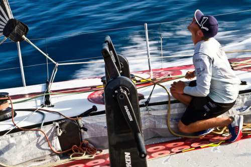 pumasailing:  Rome Kirby, at 22, is the youngest sailor in the Volvo Ocean Race 2011-12.