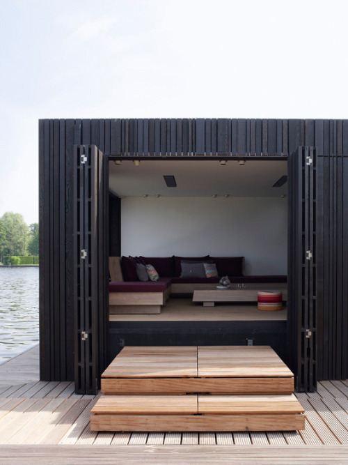 cabbagerose:  piet boon boathouse via: desiretoinspire
