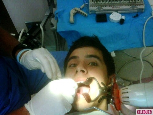 David Archuleta at the dentist!