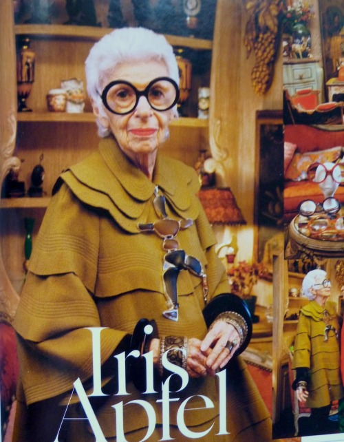 Iris Apfel, god she is awesome