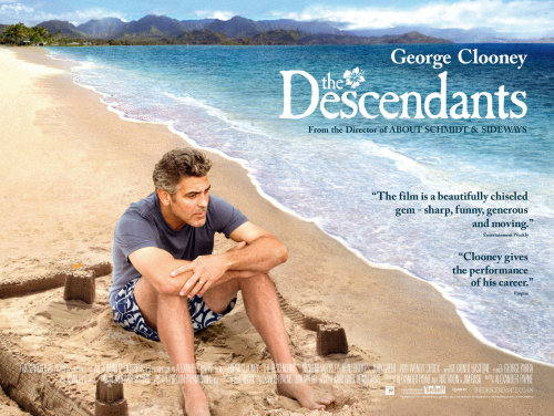 #2012films - 5: The Descendants It was okay but it wasn't as good as I thought it was going to be. There were some pretty good moments but it did stop and start a little bit. I really loved the music, though! Shailene Woodley was lovely.