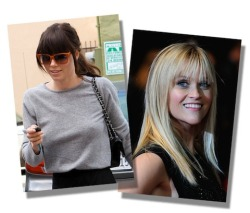 Jessica Biel and Reese Witherspoon make a strong case that bangs are back.