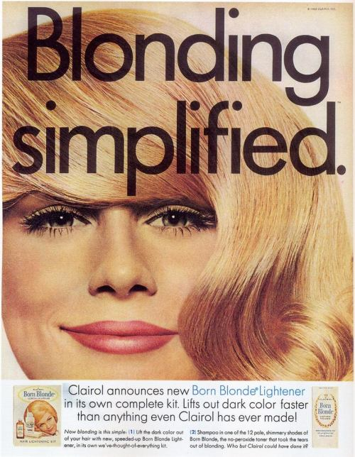 "Clairol: ""Blonding Simplified."""