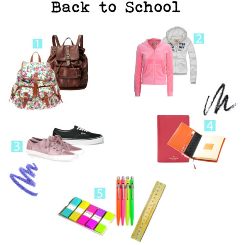 Back to school by marybraganca featuring a vintage hoodie