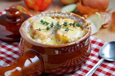 Apple French Onion Soup by Kevin - Closet Cooking on Flickr.