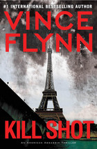 Vince Flynn's Kill Shot is slated for publication in a few weeks. Have you requested your copy yet? If you haven't, the popularity of America's most deadly Asset may delay your ability to get a hold of a copy. Why not start with the first book in the Mitch Rapp series, Transfer of Power? The political-action thriller introduces deadly CIA commando Mitch Rapp as he finds a way to diffuse a 100-hostage situation in the White House. Arab terrorists, posing as wealthy campaign donors, are welcomed to the White House without a single gun drawn. While the President escapes the security in time the terrorist assault turns deadly as the terrorists hold 100 hostages and take over the White House. Faced with political and military egos it is up to Mitch Rapp to crawl through ducts and secret passages in order to save the hostages and stop an international disaster. Kill Shot - Vince Flynn (Link to Catalog) Transfer of Power - Vince Flynn (Link to Catalog)