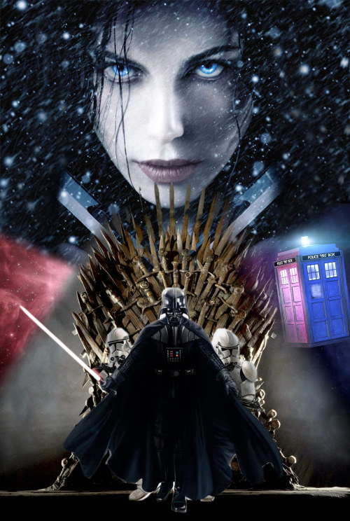 """Star Wars: Underworld"" Teaser Poster - Inspired by a Twitter chat with @hellocookie, but I feel like it's missing a few Enterprises or something."