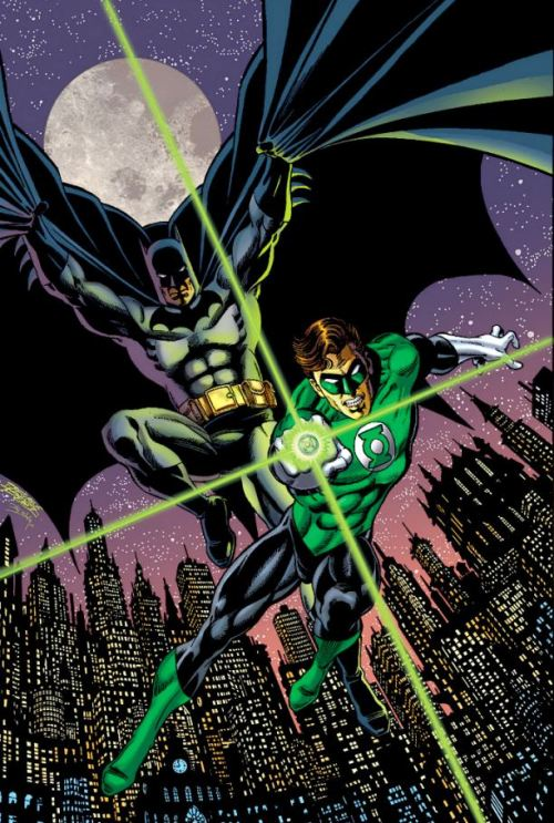 thefandomzone:  Batman and Green Lantern by George Pérez