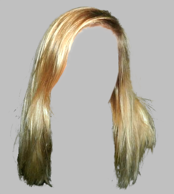 Long and Blonde Hair