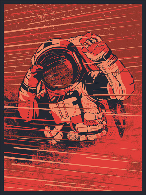 """Olympus Mons"" Art Print by Ryan Lynn (via OMG! Posters)"