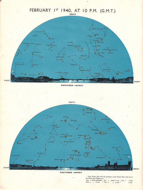 imperialandstandard:  Star Map 1940 (February)