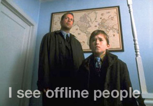 offline people