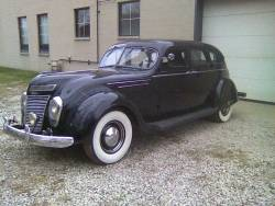 This 1937 (I think) Chrysler Airflow looks cooler than yo' face.