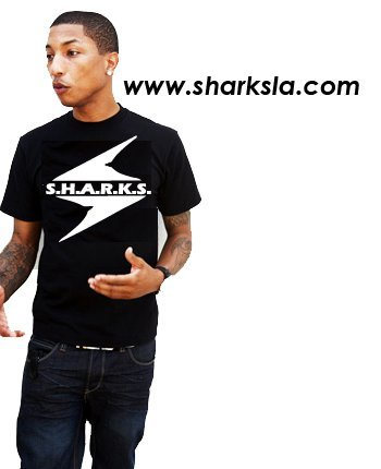 Pharrell Williams for sharks?! whaaat??