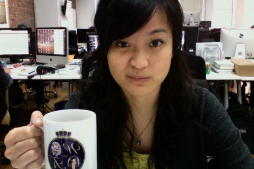 My coffee consumption is at an all-time high… TWO WHOLE CUPS A DAY! o_O