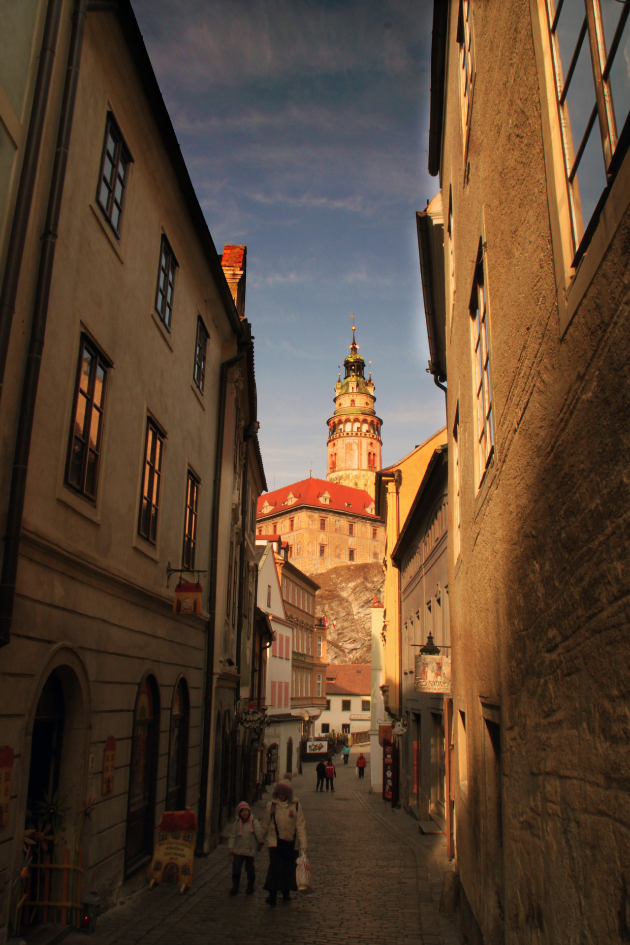 | ♕ |  Nam Svornosti, Cesky Krumlov, Czech Republic  photo taken/posted by © xorunaways
