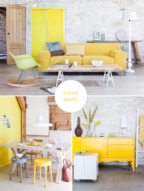 selfinspiration:  creamy yellow (via STYLIZIMO BLOG: Trend Alert 2012!)  If you all recall, this has been the dream swatch for over a year here at Bestrooms.