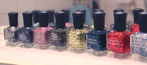 twiggytart:  holy want. i have half of these. mmm. deborah lippmann.