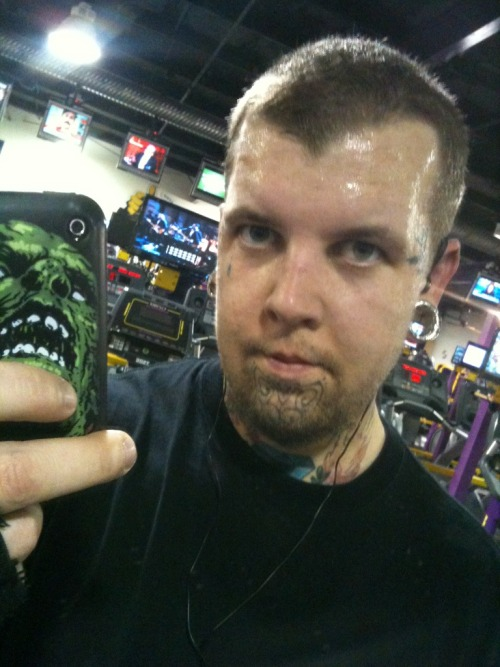 at the gym. 1-30-12
