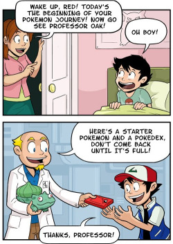 Professor Oak's Master Plan 1