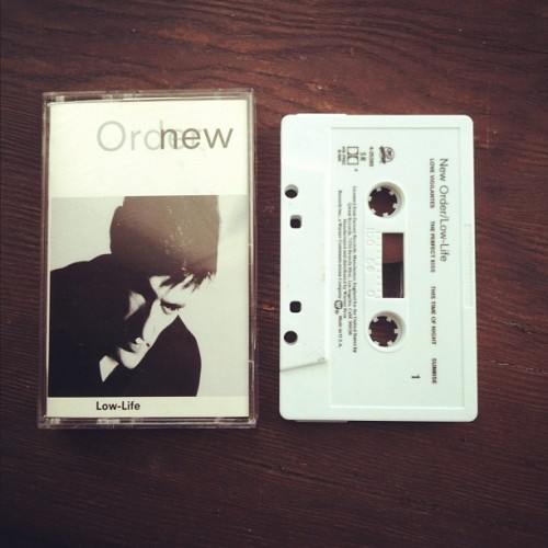 Got this New Order tape the other day. (Taken with instagram)