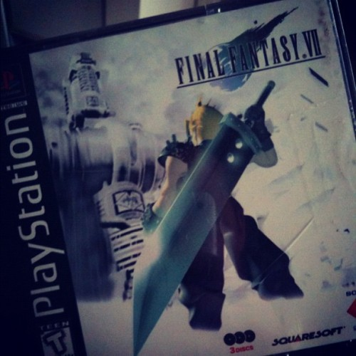 techknology:  FF7 (Taken with instagram)