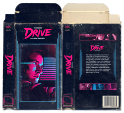 "Drive retro VHS sleeve the-conjuring: My friend James White is having a poster giveaway this coming Thursday. The design is still TBA but coming from James, I can only assume it'll be killer. To enter the draw, head over to Mystery Box and download his ""DRIVE"" media pack for free. For the not so technologically savvy, dont worry, I made you a VHS sleeve."