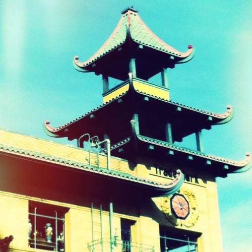 Pagoda in Blue (Taken with instagram)