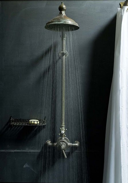 bohemianhomes:  Vintage shower head