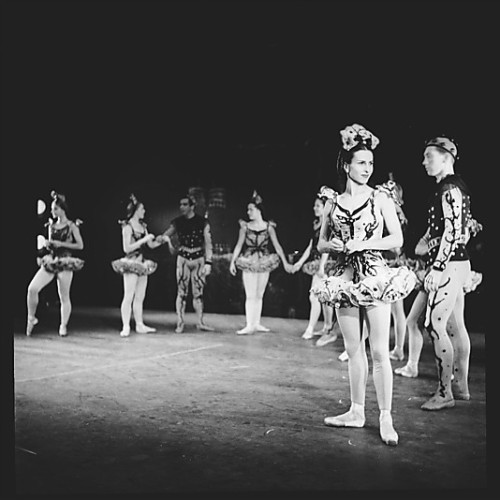 Film negative from The Ballet Theatre Company, New York. 1945. Met Museum.