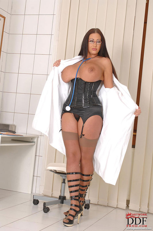 mybaudelaire:  Naughty Nurse (via  Hot Legs & Feet )