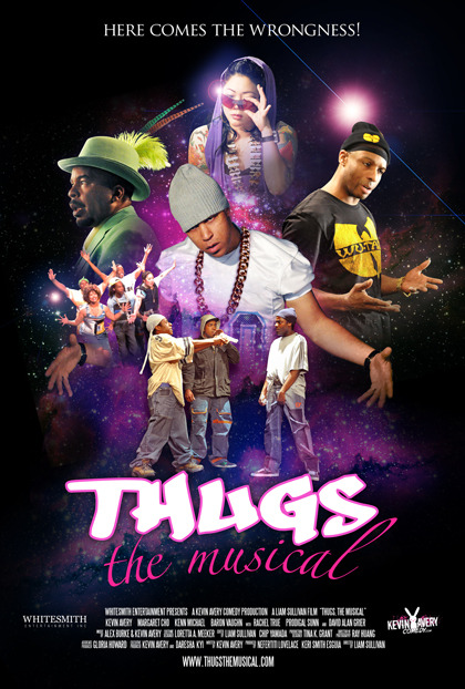 """Thugs: The Musical"" Poster [Looks like the coming attractions poster for a blaxploitation version of Star Wars entitled ""A New Dope""]"