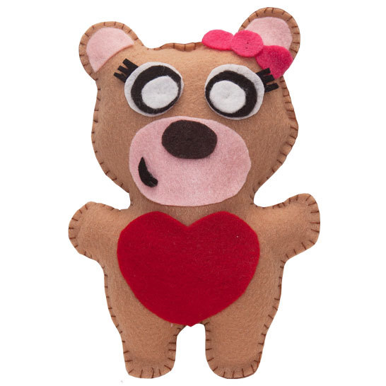 ADORABLE Valentine Bear for sale! Get one for your loved one! http://etsy.me/Aj3eH6