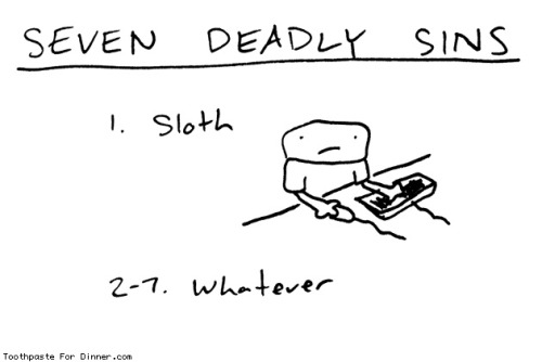 laughingsquid:  Seven Deadly Sins