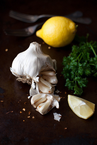 Garlic and lemon by Yelena Strokin on Flickr.Such good friends!