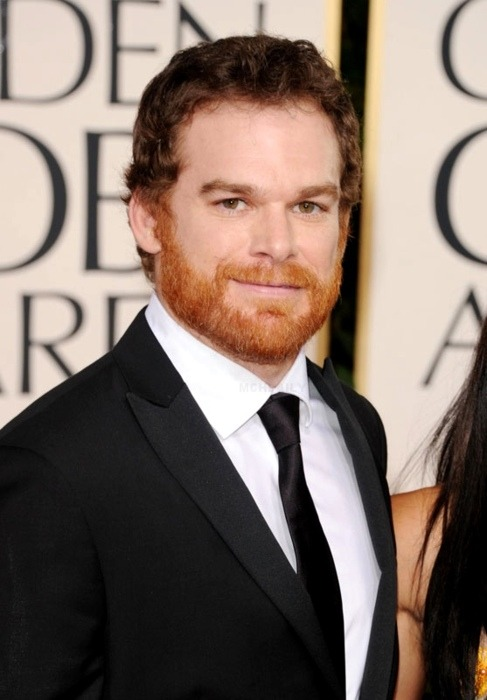 Michael C. Hall.  What a great ginger beard.