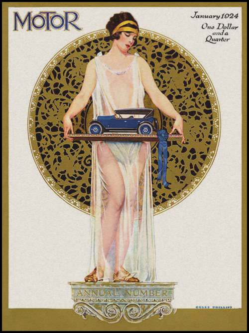 Coles Phillips, Motor, January 1924