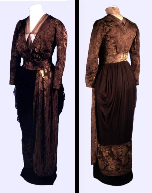 omgthatdress:  Dress 1911 The Bowes Museum